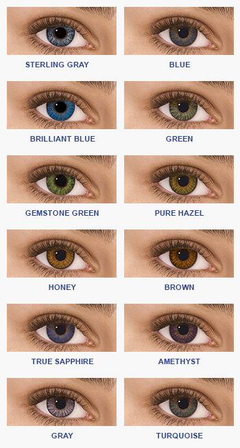 Freshlook Colors Chart